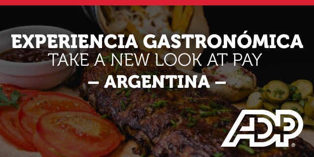 EXPERIENCIA GASTRONÓMICA - TAKE A NEW LOOK AT PAY - ARGENTINA