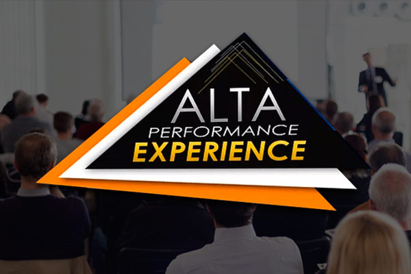 ALTA PERFORMANCE EXPERIENCE